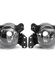 cheap -2pcs LED Car Front Fog Lights Shell Daytime Running Lamp Frame for BMW E60 E90 E63 E4