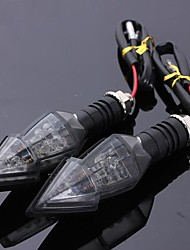 cheap -2pcs Wire Connection Motorcycle Light Bulbs 15 Turn Signal Lights For Toyota / Benz / Honda All Models All years