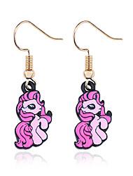 cheap -Earrings Geek & Chic Alloy For Unicorn Harajuku Girls Cosplay Women's Costume Jewelry Fashion Jewelry / 1 Pair of Earrings