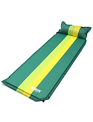 cheap -Sleeping Pad Self-Inflating Sleeping Pad Camping Pad Outdoor Waterproof Rectangular Thick Folding Composite materials Outdoor Exercise Beach Camping Spring, Fall, Winter, Summer Green Blue