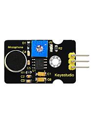 Недорогие -Keyestudio модуль обнаружения аналогового шума звука для Arduino KS0035-1