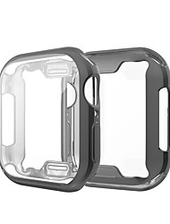 cheap -Case For Apple Apple Watch Series 4 / Apple Watch Series 4/3/2/1 / Apple Watch Series 3 Silicone Apple