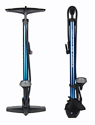 cheap -GIYO Mini Bike Pump Bike Floor Pump with Gauge Portable Lightweight Durable Accurate Inflation Stable For Road Bike Mountain Bike MTB Folding Bike Cycling Bicycle Aluminium Alloy Black Red Blue