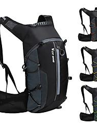cheap -WEST BIKING® 10 L Cycling Backpack Sports & Leisure Bag Waterproof Portable Wearable Bike Bag Nylon Bicycle Bag Cycle Bag Cycling Hiking Outdoor Exercise / Reflective Strips