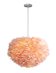 Недорогие -3-Light 60 cm Новый дизайн Подвесные лампы Металл Ткань Фонариком Фонариком 110-120Вольт / 220-240Вольт