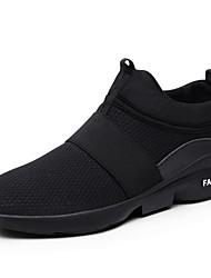 Недорогие -Муж. Комфортная обувь Весна / Лето Спортивные / На каждый день Атлетический Повседневные на открытом воздухе Спортивная обувь Беговая обувь Tissage Volant Дышащий Нескользкий Доказательство износа
