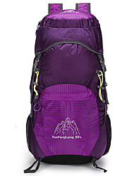 cheap -30 L Hiking Backpack Lightweight Packable Backpack Lightweight Breathable Rain Waterproof Ultra Light (UL) Outdoor Hiking Camping Team Sports Nylon Fuchsia Green Blue / Yes / Compact