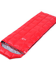 cheap -Hewolf Sleeping Bag Outdoor Camping Envelope / Rectangular Bag 15 °C White Duck Down Lightweight Windproof Breathable Rain Waterproof Warm Ultra Light (UL) Spring &  Fall Autumn / Fall for Camping