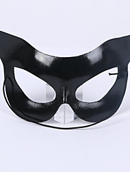 cheap -Mask Venetian Mask Masquerade Mask Inspired by Cosplay Black Halloween Halloween Carnival Masquerade Adults' Women's Female / Half Mask