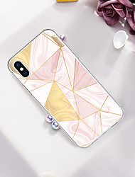 cheap -Case For Apple iPhone XS / iPhone XR / iPhone XS Max Pattern Back Cover Marble Soft TPU
