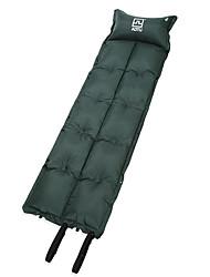 cheap -AOTU Self-Inflating Sleeping Pad Air Pad Outdoor Portable Moistureproof Ultra Light (UL) Wearproof PVC / Vinyl 185*55*2.5 cm Camping / Hiking Climbing Camping / Hiking / Caving All Seasons Green Blue