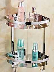 cheap -Bathroom Shelf New Design / Cool Modern Stainless Steel 1pc Double Wall Mounted