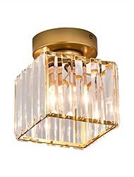 cheap -1-Light 15 cm Crystal / Mini Style / Cute Flush Mount Lights Metal Crystal / Novelty Painted Finishes Chic & Modern / Modern 110-120V / 220-240V / E26 / E27