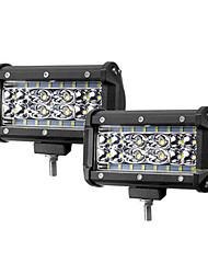 Недорогие -2pcs Мотоцикл / Автомобиль Лампы 72 W 6000 lm 28 Светодиодная лампа Противотуманные фары / Рабочее освещение Назначение Универсальный / Jeep Все модели Все года