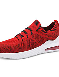 cheap -Men's Comfort Shoes Tissage Volant Spring & Summer / Fall & Winter Sporty / Preppy Athletic Shoes Running Shoes / Fitness & Cross Training Shoes Breathable Black / White / Red