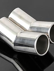 cheap -Stainless Steel Trail Rear Exhaust Pipe Muffler For VW Bora Golf Jetta