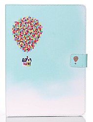 cheap -Case For Apple iPad Mini 5 / iPad New Air(2019) / iPad Mini 3/2/1 Wallet / Card Holder / with Stand Full Body Cases Balloon Hard PU Leather