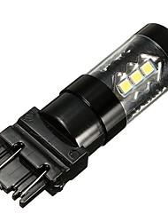 Недорогие -7 Вт 6000 К белый светодиодный указатель поворота заднего хода резервный противотуманный фонарь 3157 3535 16см