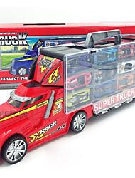 abordables -1:64 Alliage de métal Voiture de Course Tombereaux Articulés Camions Véhicules de Construction Enfants Bébé Jouets de voiture