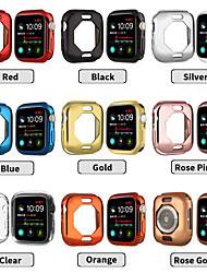 cheap -Case For Apple Apple Watch Series 4 Silicone Apple