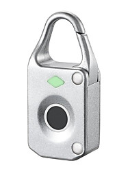 cheap -Stainless Steel Fingerprint Padlock Smart Home Security System Fingerprint unlocking Household / Home / Office / Apartment Others (Unlocking Mode Fingerprint)
