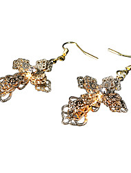 cheap -Vampire Dracula Pendant Necklace Unitards Cross Gothic Steampunk Alloy For Party Birthday Masquerade Women's Costume Jewelry Fashion Jewelry / 1 Pair of Earrings