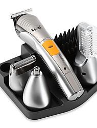 Недорогие -kemei km-570a электрические машинки для стрижки волос аккумуляторная машинка для стрижки волос для мужчин и женщин 220 В / 230 В с низким уровнем шума / ручной дизайн / легкий и удобный