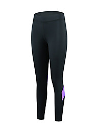cheap -cheji® Women's Cycling Tights Cycling Pants Bike Pants / Trousers Tights Pants Breathable Quick Dry Sports Lycra Lavender / Black / Pink Mountain Bike MTB Road Bike Cycling Clothing Apparel Race Fit