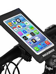 cheap -ROCKBROS Bike Handlebar Bag Touch Screen Waterproof Easy to Install Bike Bag Nylon Bicycle Bag Cycle Bag Cycling Cycling / Bike
