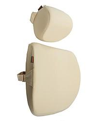 cheap -ROIDMI Car Headrests / Car Waist Cushions Headrests / Waist Cushions Beige / Gray Sponge Common For universal All years General Motors