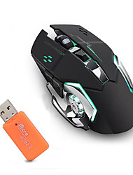 cheap -LITBest JXC-X8 Wireless 2.4G Optical Gaming Mouse Led Light 2400 dpi 3 Adjustable DPI Levels 6 pcs Keys 2 Programmable Keys
