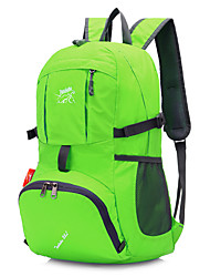 cheap -20 L Hiking Backpack Lightweight Packable Backpack Waterproof Lightweight Fast Dry Ultra Light (UL) Outdoor Hiking Camping Team Sports Nylon Green Blue Violet / Compact / Wear Resistance