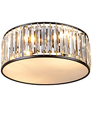 cheap -3-Light Novelty Flush Mount Lights Ambient Light Painted Finishes Metal Crystal, Eye Protection, New Design 110-120V / 220-240V
