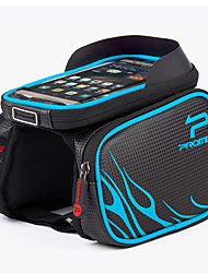 cheap -PROMEND Cell Phone Bag Bike Frame Bag Top Tube 6.2 inch Touch Screen Cycling for Cycling Blue Red Ginger Outdoor Exercise Cycling / Bike Bike / Cycling