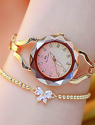 cheap -Women's Wrist Watch Gold Watch Quartz Casual Luminous Silver / Gold / Rose Gold Analog - Rose Gold Gold Silver Two Years Battery Life / Japanese / Imitation Diamond / Japanese