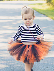 cheap -Ballet Dress Tutu Bubble Skirt 1950s Layered Orange Petticoat / Kid's / Under Skirt / Crinoline
