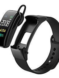 cheap -DMDG B31 Smart Bracelet Smartwatch Android iOS Bluetooth Smart Sports Waterproof Heart Rate Monitor Blood Pressure Measurement ECG+PPG Stopwatch Pedometer Call Reminder Activity Tracker / Alarm Clock