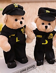 cheap -Bear Teddy Bear Stuffed Animal Plush Toy Animals Cute Dancing Cotton / Polyester All Perfect Gifts Present for Kids Babies Toddler