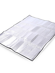 cheap -Hewolf Picnic Pad Picnic Blanket Outdoor Portable Lightweight Moistureproof Thick Aluminum 200*150 cm Camping / Hiking Climbing All Seasons Silver