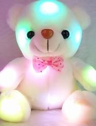 cheap -1 pcs Stuffed Animal Talking Stuffed Animals Plush Toy Plush Toys Plush Dolls Stuffed Animal Plush Toy Bear Teddy Bear Glow LED Light Sound Recorder Cotton / Polyester Imaginative Play, Stocking