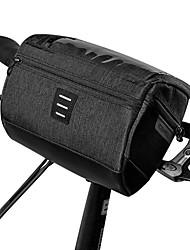 cheap -3 L Bike Handlebar Bag Waterproof Portable Wearable Bike Bag 600D Polyester Bicycle Bag Cycle Bag Outdoor Exercise Bike / Bicycle