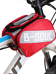 cheap -B-SOUL 2 L Cell Phone Bag Bike Frame Bag Portable Wearable Durable Bike Bag Oxford Cloth Bicycle Bag Cycle Bag Cycling / iPhone X / iPhone XR Outdoor Exercise Bike / Bicycle