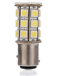 cheap -1 Piece 1157 Car Light Bulbs 4.5 W SMD 5050 270 lm 27 LED Turn Signal Lights / Tail Lights / Brake Lights For universal / Volkswagen / Benz All years