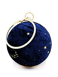 cheap -Women's Sequin Velvet / Alloy Evening Bag Geometric Pattern Blue / Black / Fall & Winter