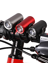 cheap -LED Bike Light Front Bike Light Headlight Mountain Bike MTB Bicycle Cycling Waterproof Super Brightest Safety Portable USB 120 lm Rechargeable USB White Camping / Hiking / Caving Cycling / Bike -
