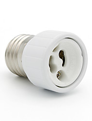 cheap -1pc E27 to GU10 Fireproof Material lamp Holder Converters Socket Adapter Light Bulb Base