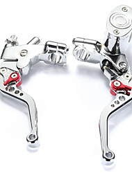 cheap -Motorcycle Clutch Brake Lever Adjustable Alumnium Alloy 1 pair(right&Left) For Motorcycles All years