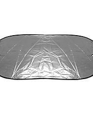 cheap -100x50cm Reflective Aluminum Film Heat Insulation Car Rear Window Shade Sun Block