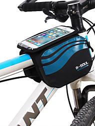 cheap -B-SOUL 1.2 L Cell Phone Bag Bike Frame Bag Touch Screen Portable Wearable Bike Bag Nylon Bicycle Bag Cycle Bag Cycling / iPhone X / iPhone XR Outdoor Exercise Bike / Bicycle