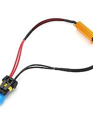 cheap -9005 50W-8Ohm Canbus Error Free Load Resistor Car LED Decoder Warning Canceler 12V